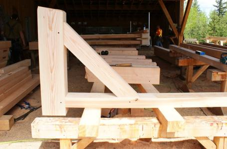 Mortise And Tenon Pieces Joined