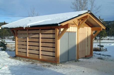 Wood Shed 1